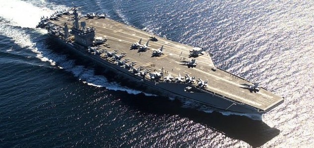 US Navy responds to politician's UFO query News-uss-nimitz