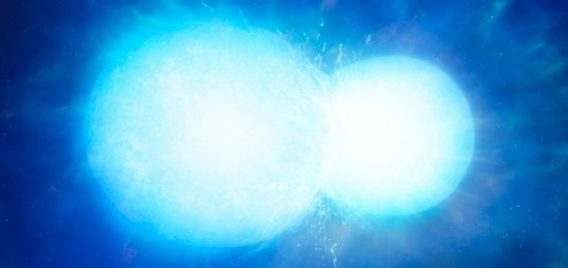 'Space snowman' is two stars merging together News-white-dwarf-merger