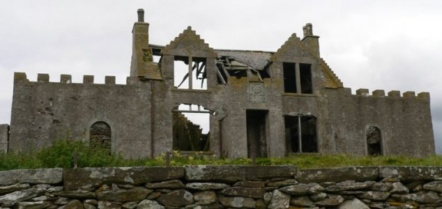 Fire erupts at Shetland's most haunted house - Unexplained Mysteries